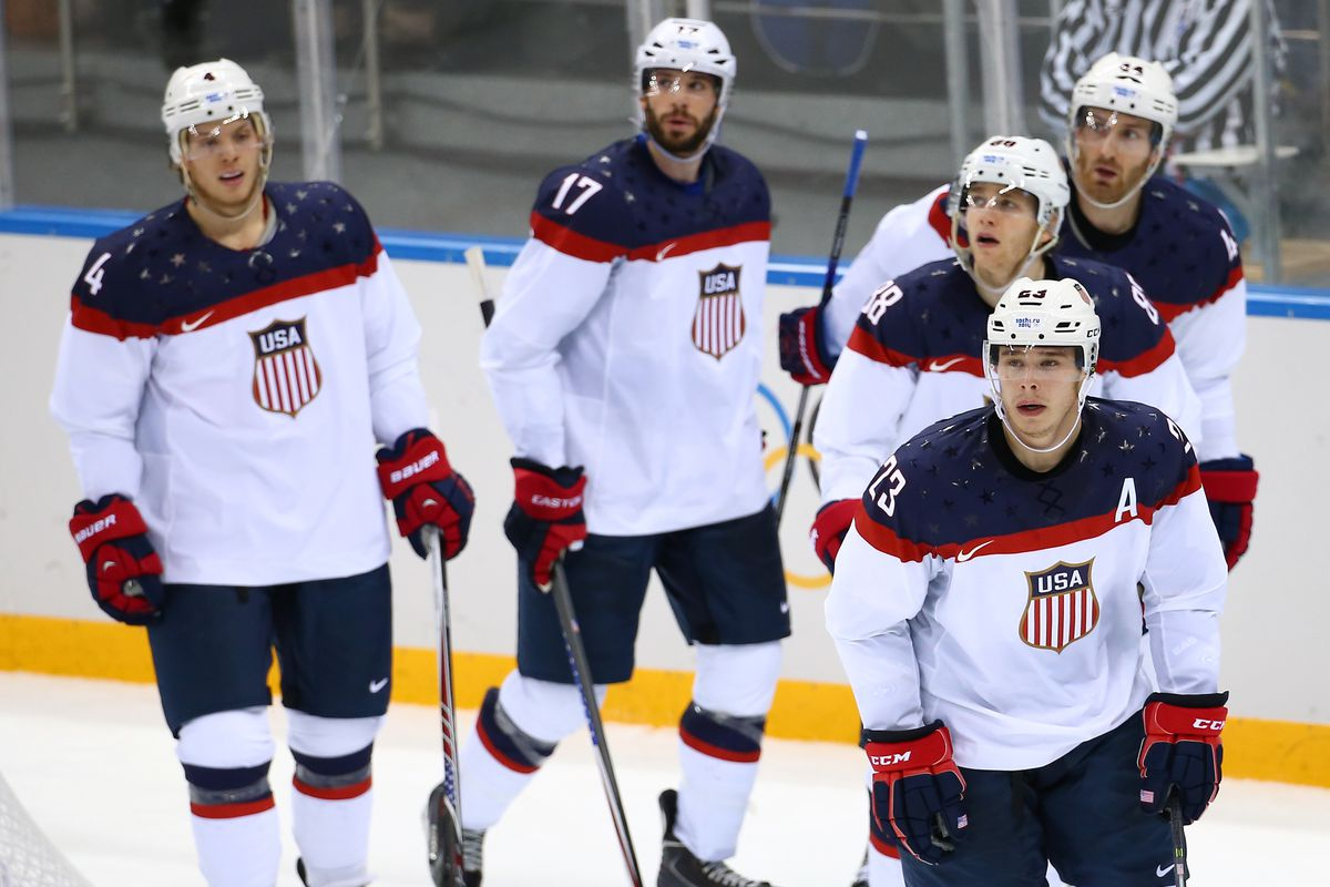 Team USA will be looking to advance today against the Czechs.
