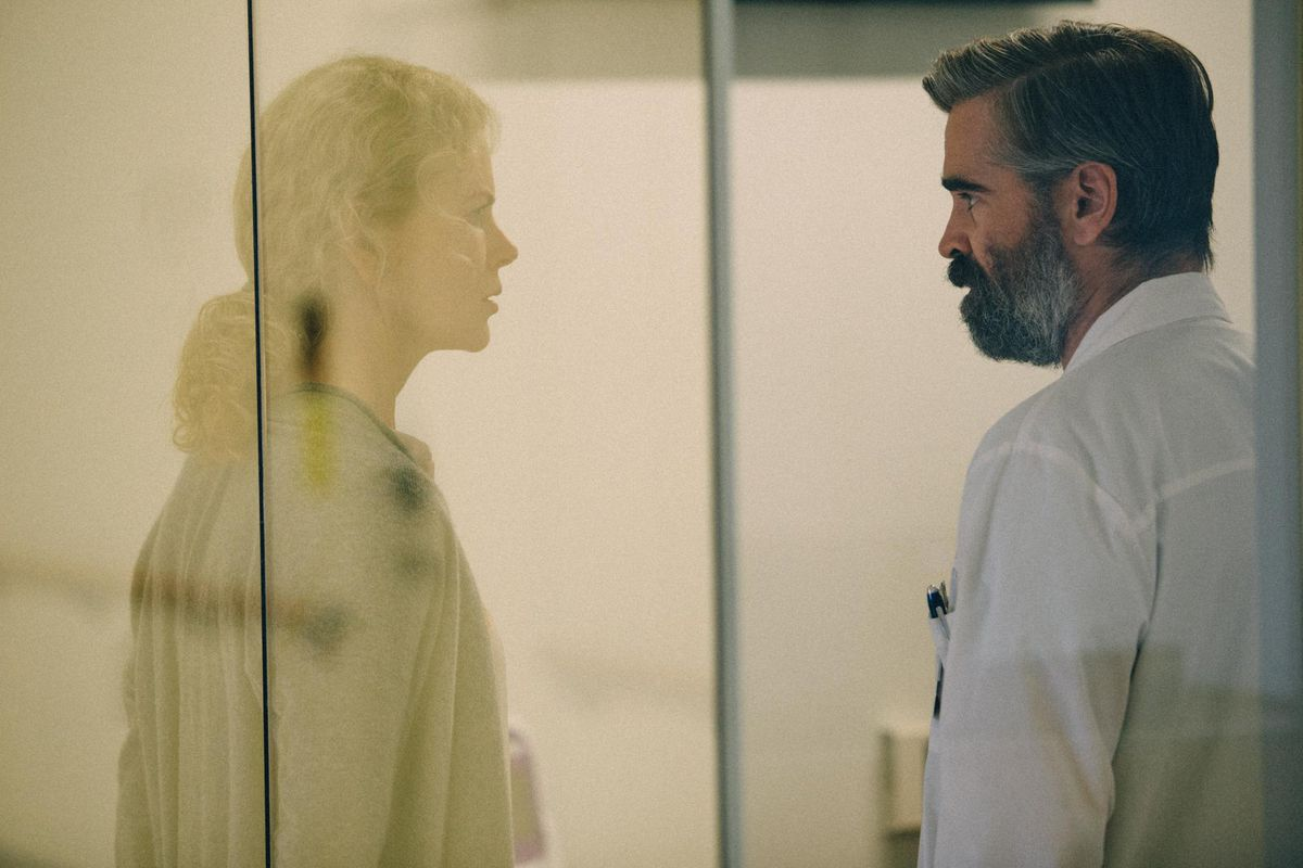 Nicole Kidman and Colin Farrell headline in The Killing of a Sacred Deer.