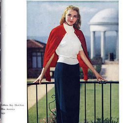 Then Miss America Colleen Kay Hutchins appears on the cover of the June 1952 Improvement Era.