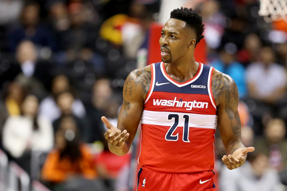 more photos f5c36 eb00e Dwight Howard suffered 'minor setback' with recent hamstring ...