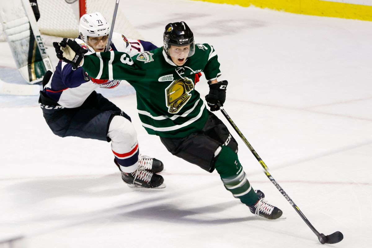 Boqvist enters first OHL postseason as a key member of London Knights -  Second City Hockey