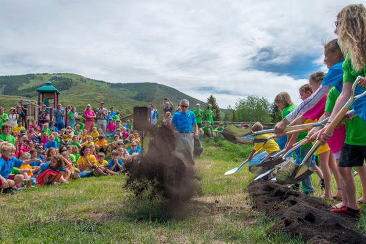 Aspen Community School groundbreaking