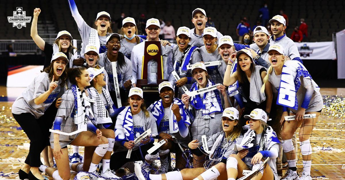 <b>Twitter</b> reactions to Kentucky volleyball winning first natty in program and SEC history thumbnail