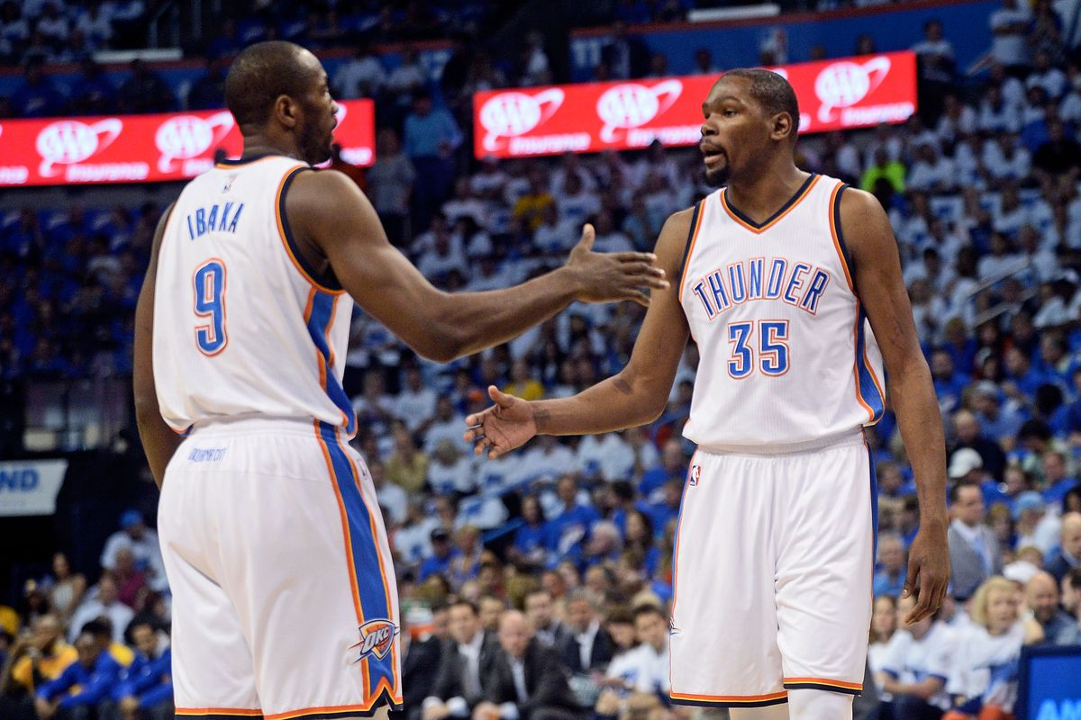 d883d10a4f02 2016 NBA free agency rumor  How will the Thunder s Serge Ibaka trade affect  the Warriors  pursuit of Kevin Durant