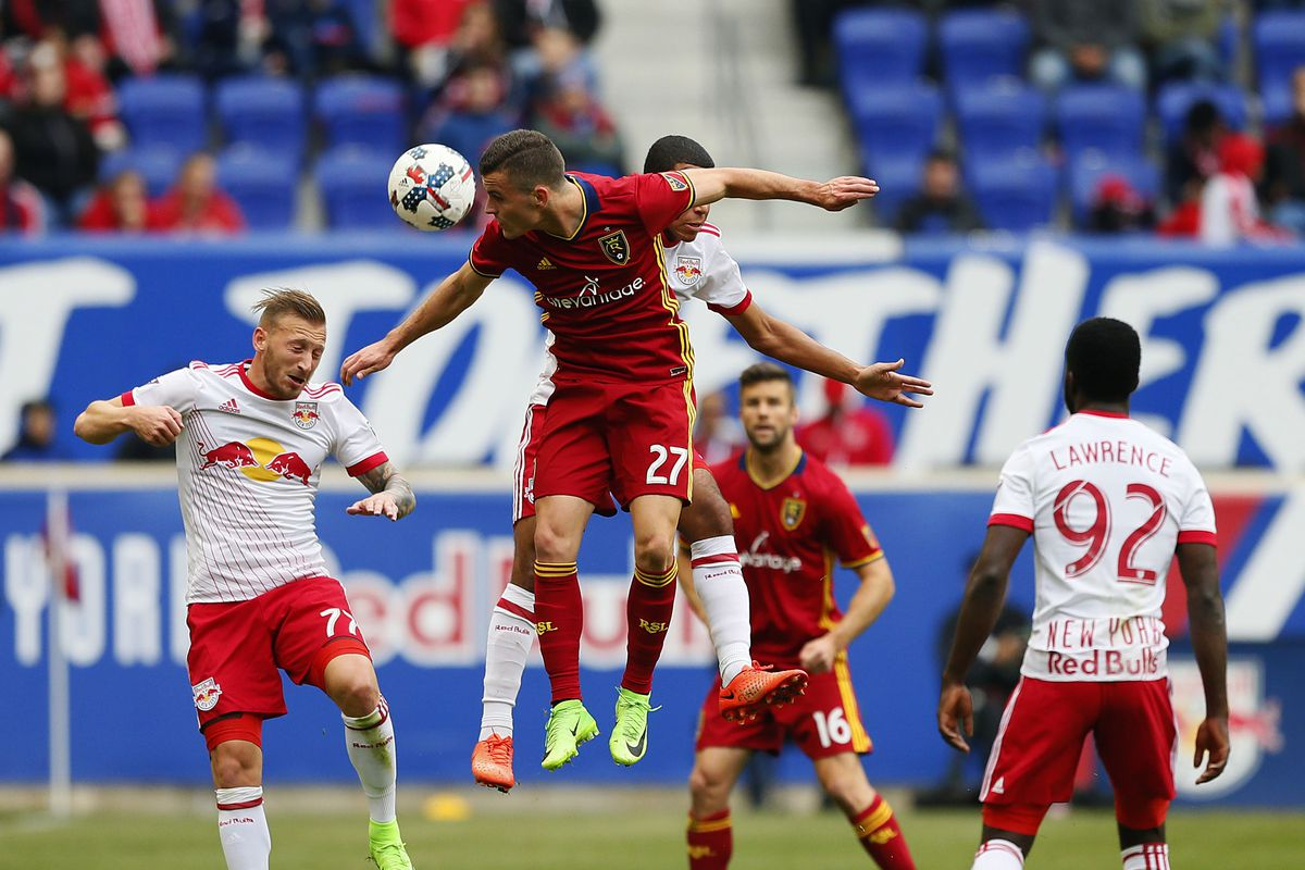 MLS: Real Salt Lake at New York Red Bulls