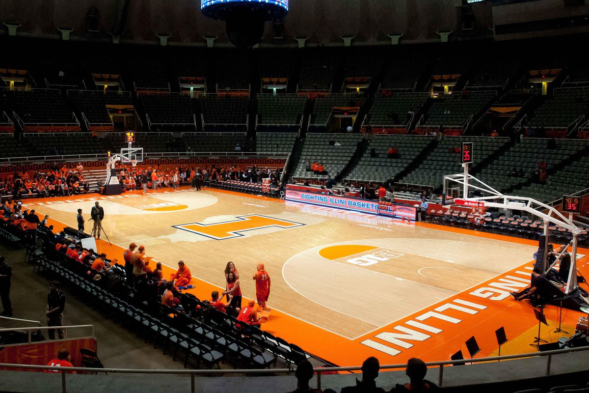worst to first illinois basketball courts the champaign room