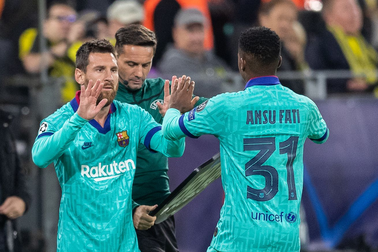 Barca?s season so far in numbers starring Ansu, Messi & MATS