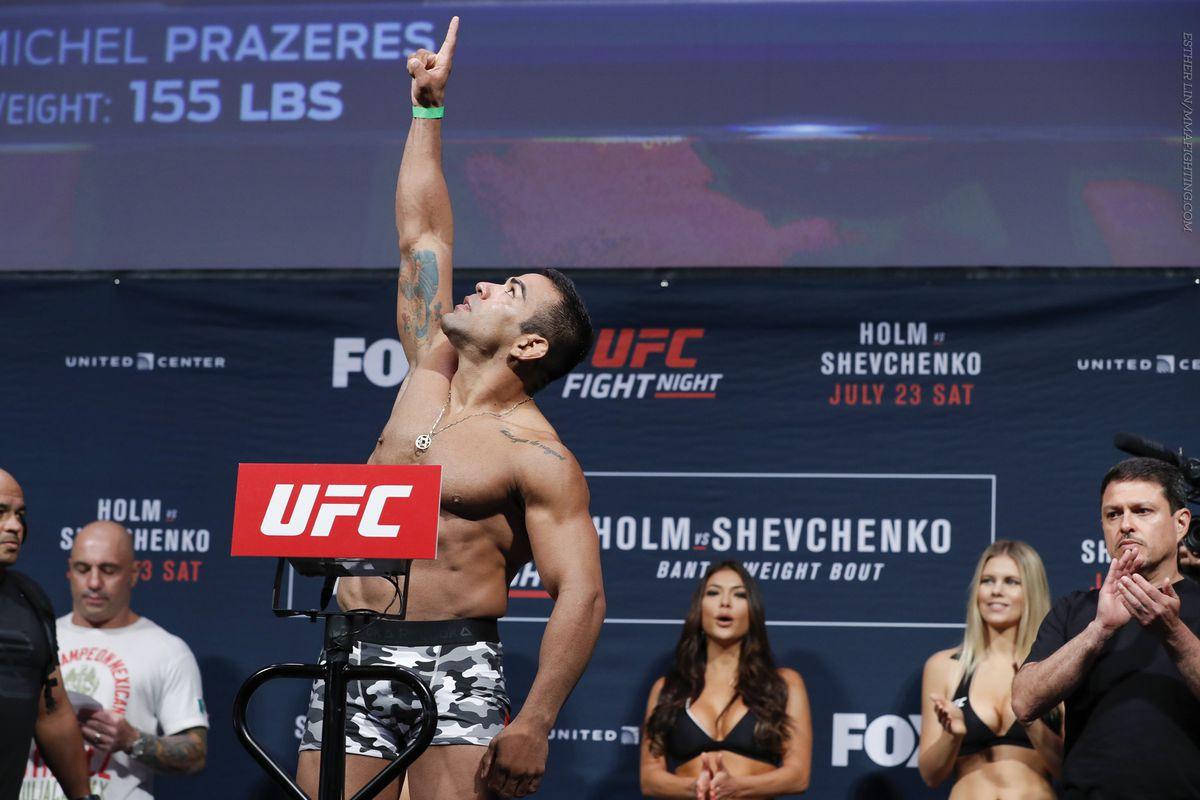 UFC on FOX 20 Weigh-in Photos