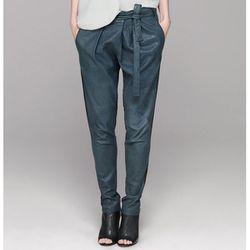 "<b>Helmut Lang</b> Thin Supple Leather Pant, <a href=""http://www.helmutlang.com/leather-pant/C10HW209,default,pd.html?start=12&q=leather"">$1,345</a>"
