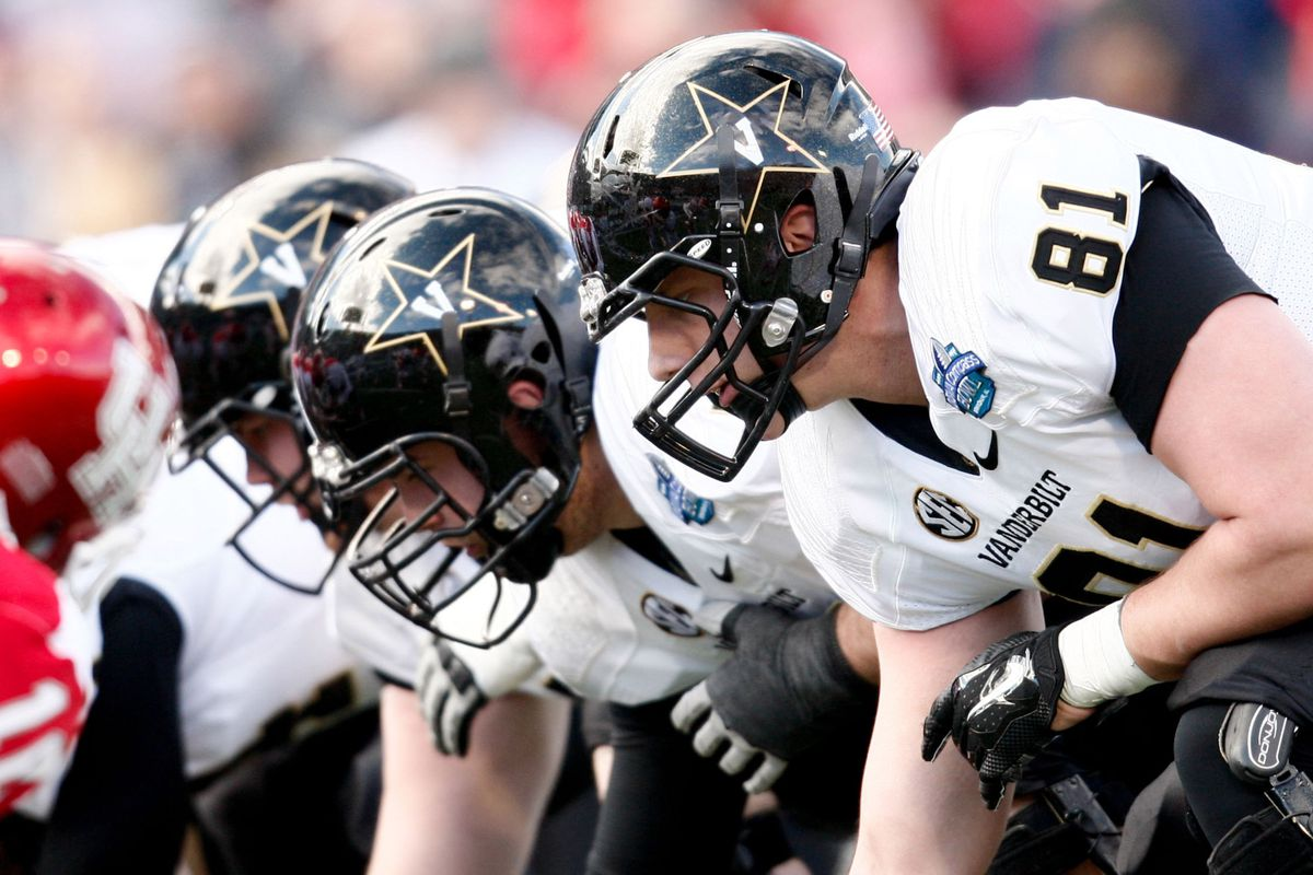Vanderbilt's players anchoring the line. See what I did there?