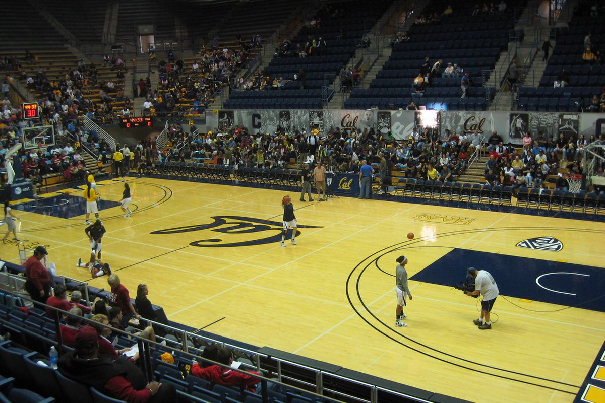 Hope once lived at Haas Pavilion...before the Stanford Cardinal took the floor.