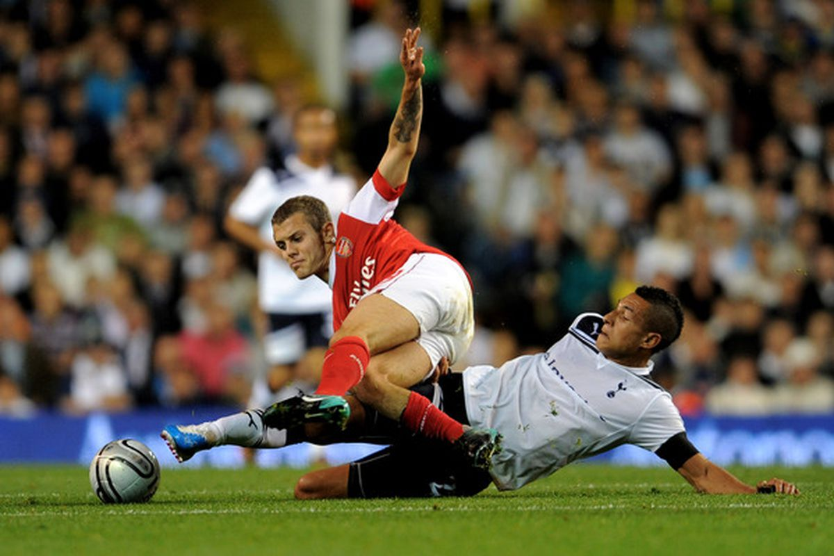 Anyone who takes out Jack Wilshere is a friend of mine (Photo by Michael Regan/Getty Images)