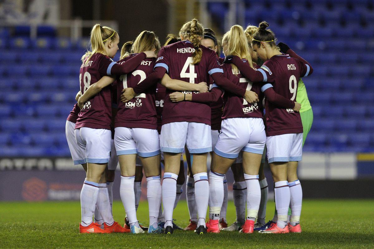 Reading Women v West Ham United Women - WSL