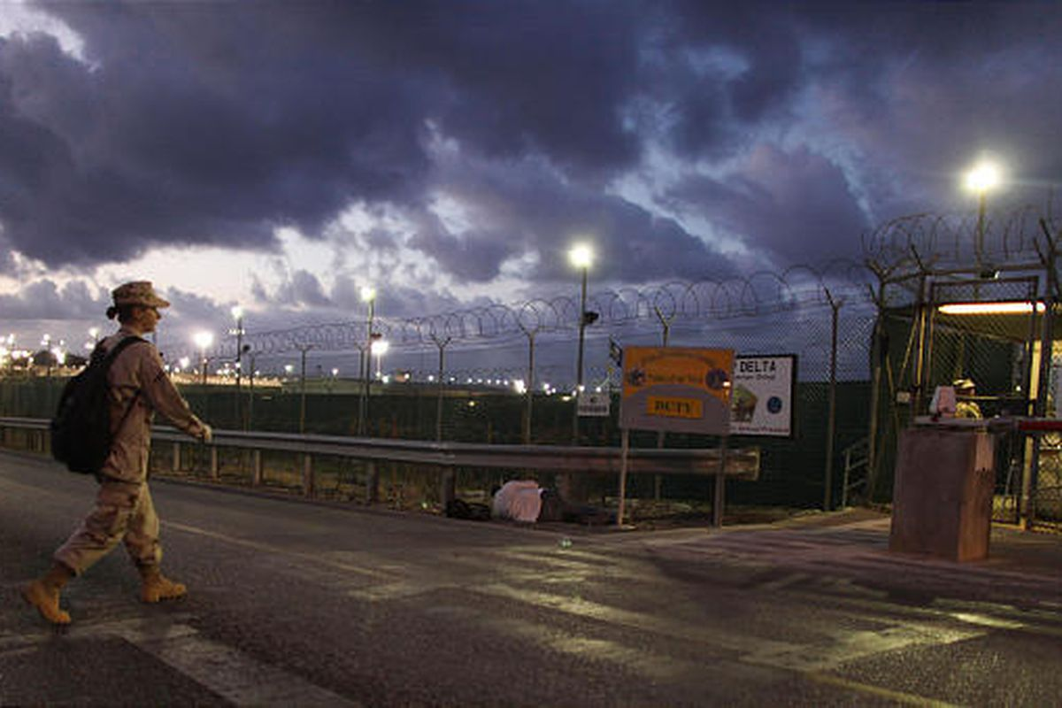 Detainees at Guantanamo Bay, Cuba, seen here, could be transferred to U.S. prisons.