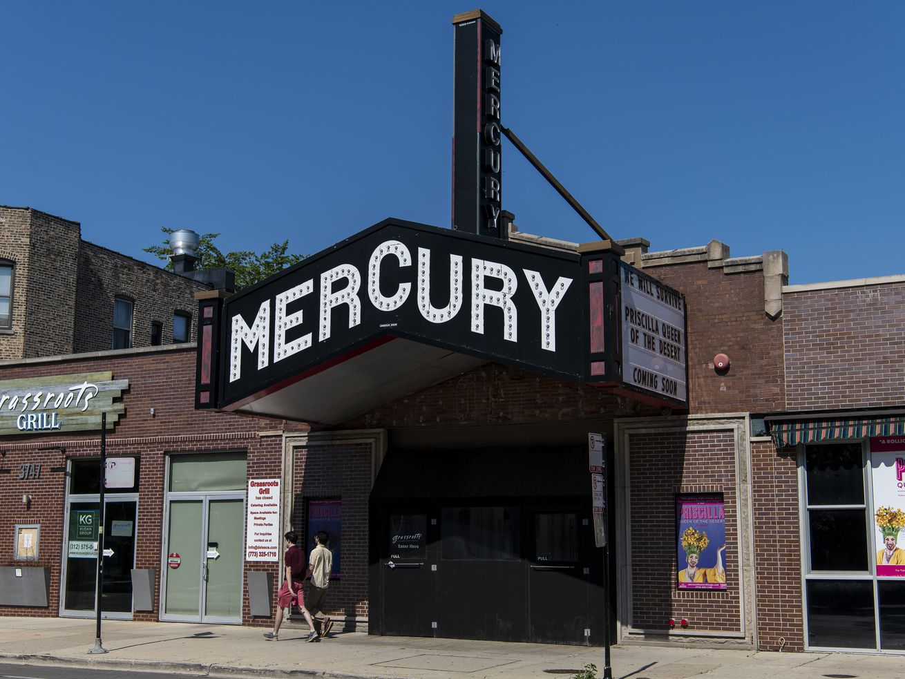 The Mercury Theater Chicago, at 3745 N. Southport, will be reopening later this year.Tyler LaRiviere/Sun-Times