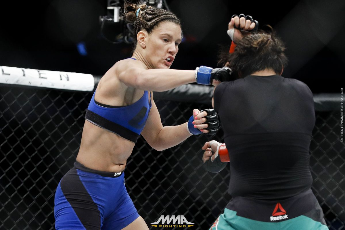 Women's Strawweight Fails Drug Test at UFC 211