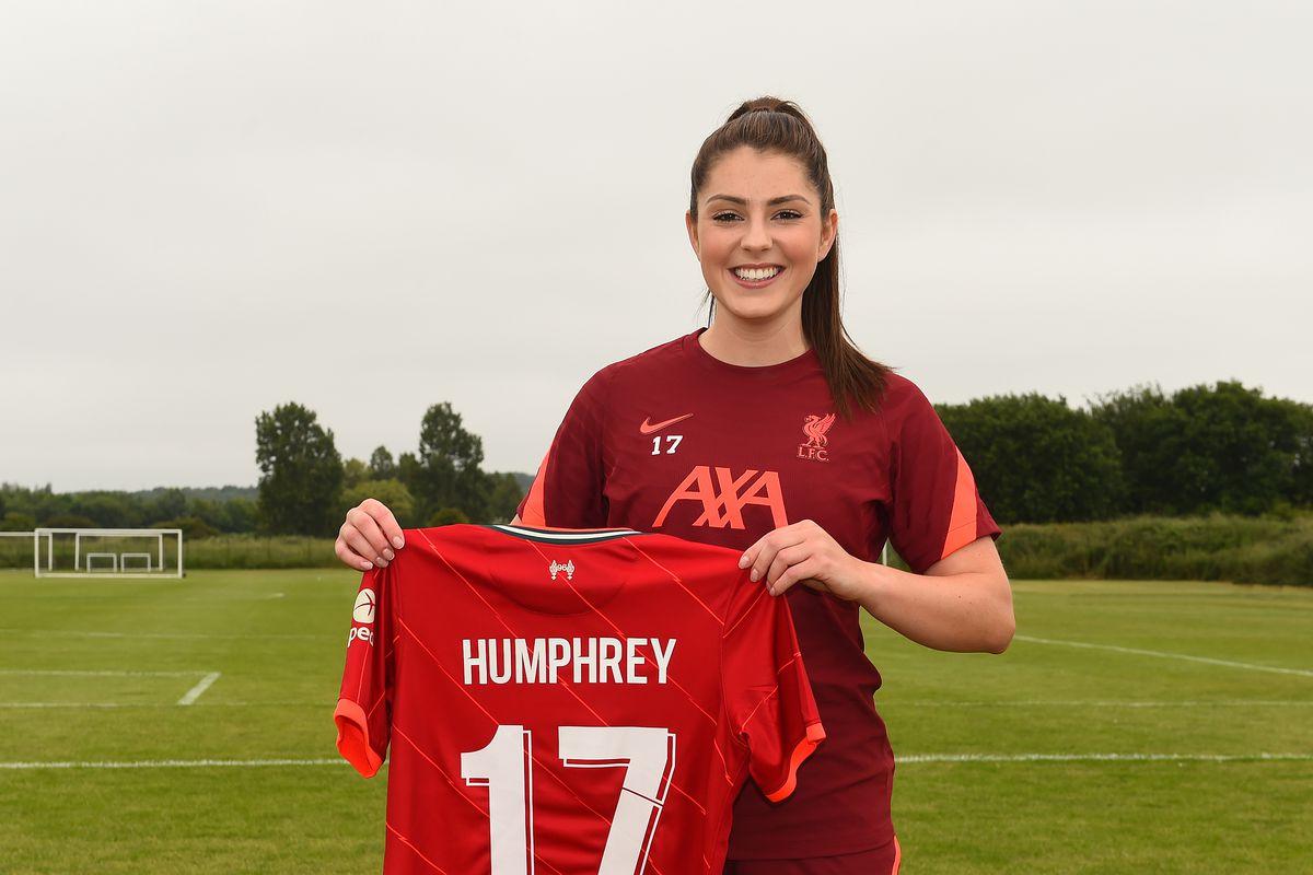 Liverpool Women Unveil New Signing Carla Humphrey