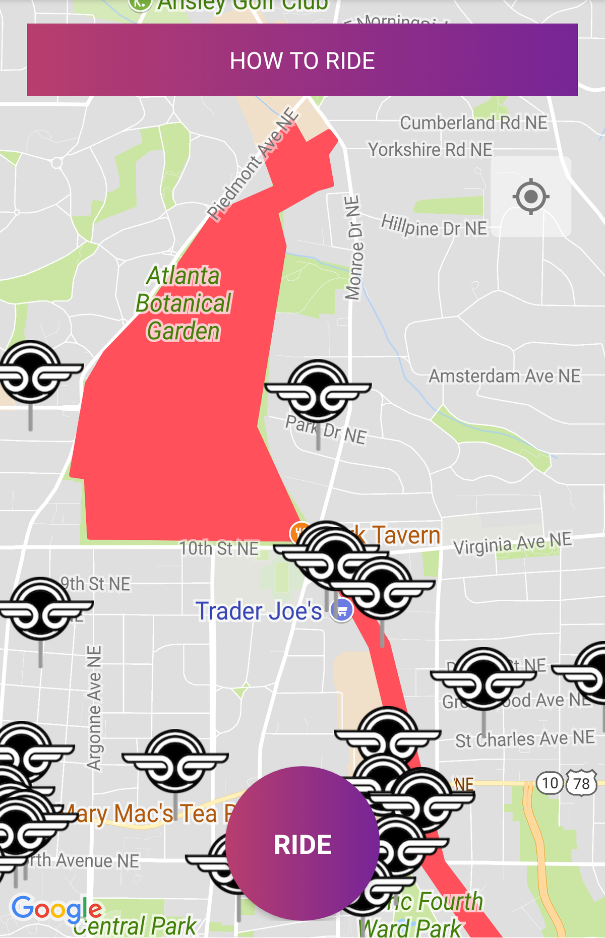 The Beltline Atlanta Map.Bird Scooters Are Banned From Beltline But Atlanta Doesn T Seem To