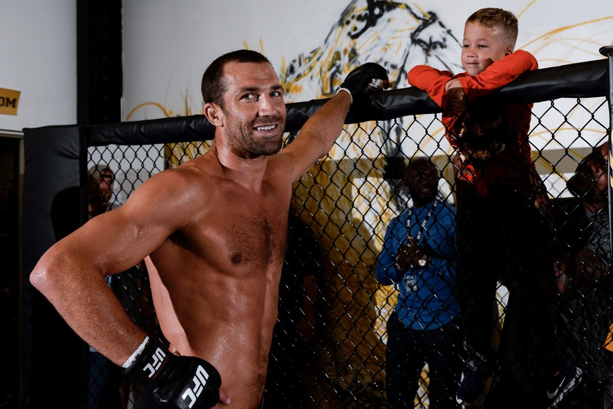Sean O'Malley claims Luke Rockhold had a drunken encounter with his father.