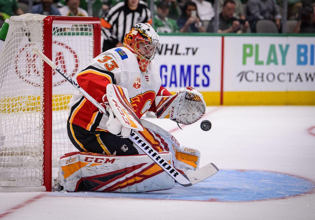 NHL: Calgary Flames at Dallas Stars