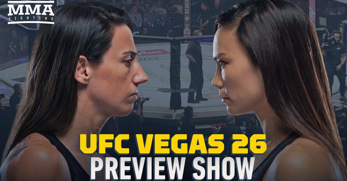 UFC Vegas 26 preview show