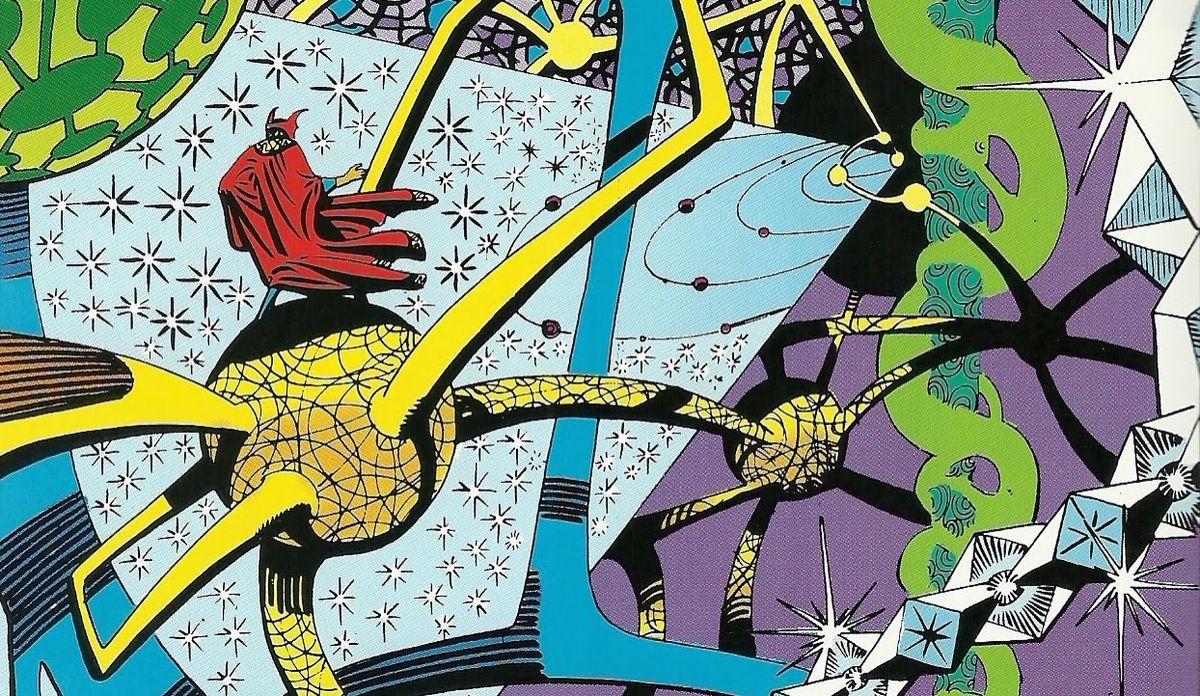 Steve Ditko Doctor Strange splash page