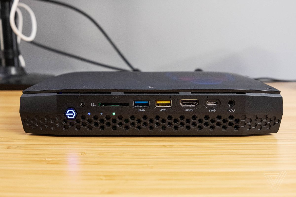 Intel NUC 8 PC review: tiny gamer - The Verge