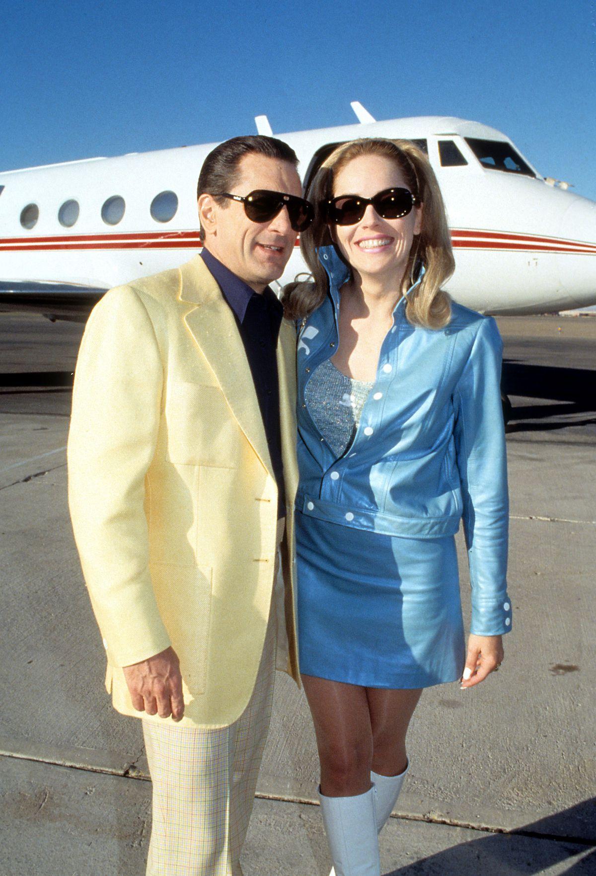 Robert De Niro And Sharon Stone In 'Casino'