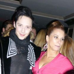 Johnny Weir is seriously everywhere!