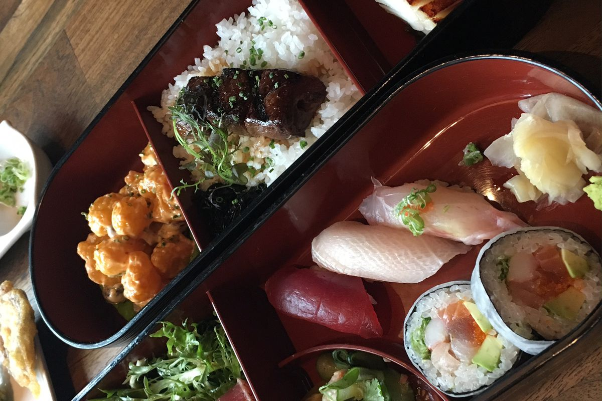 Bento box at Matsuhisa