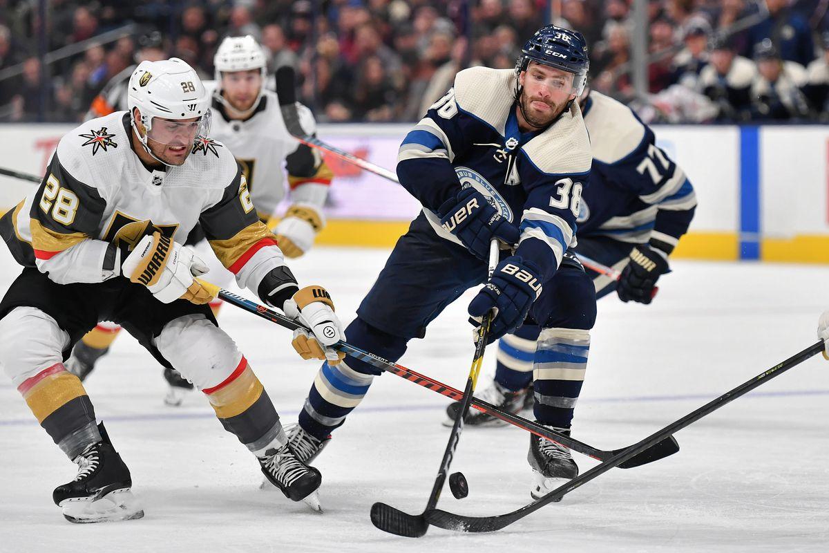 Vegas Golden Knights v Columbus Blue Jackets