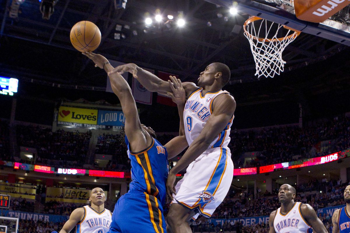 Just a taste of what to expect when you walk Ibaka's path.