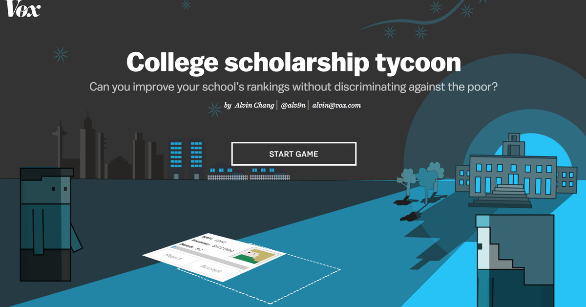 This game shows how college admissions discriminates against the