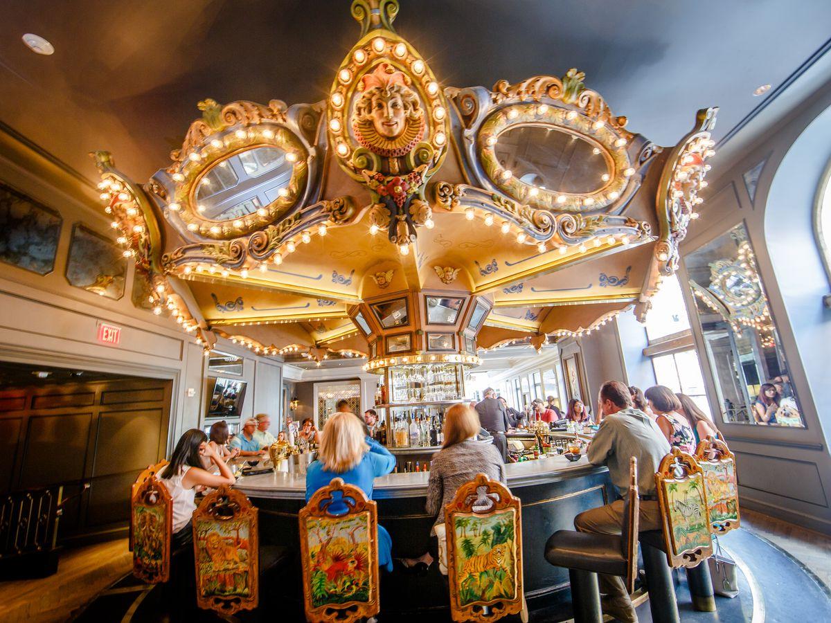 Inside Carousel Bar