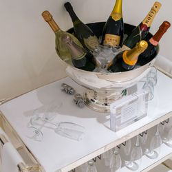 The champagne cart