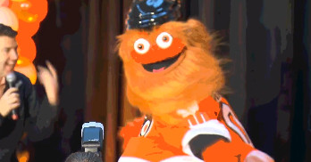 ?Gritty? is the Flyers? new googly-eyed, hot dog loving mascot who might be a Lovecraftian old one