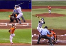 Front/back still Chen Pitching