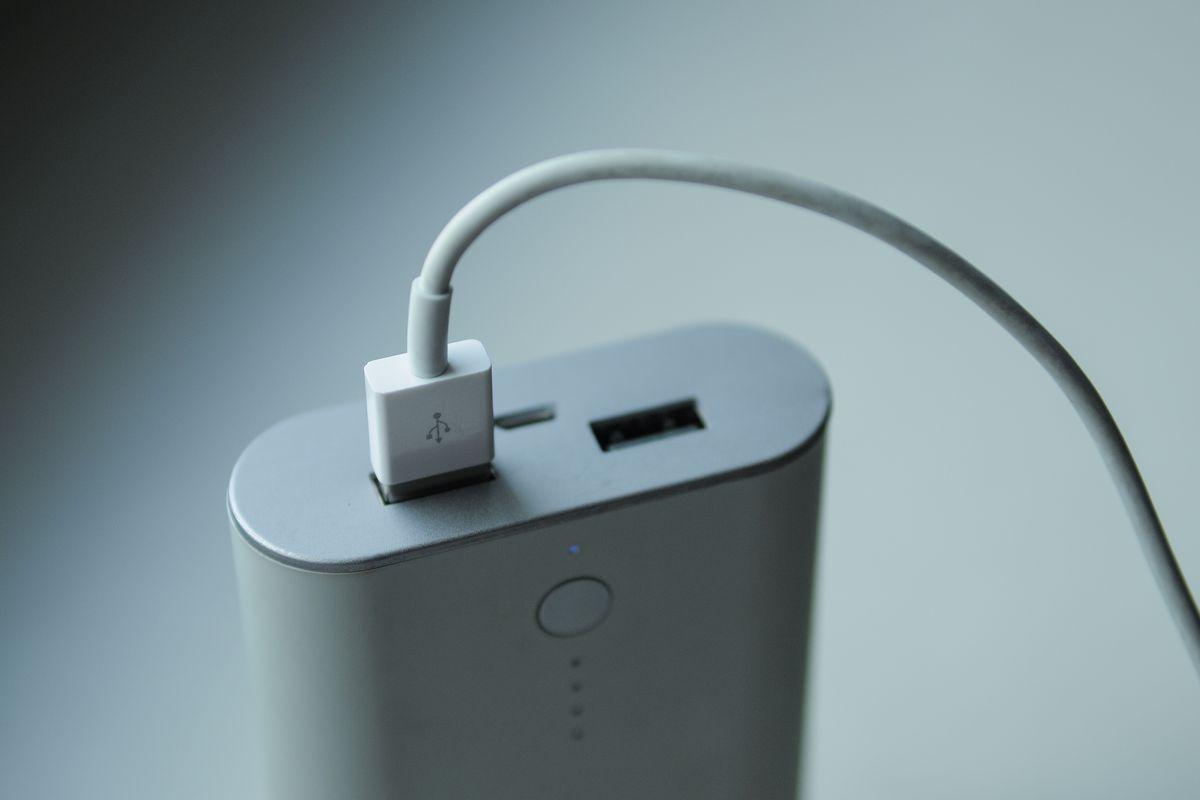 A battery.