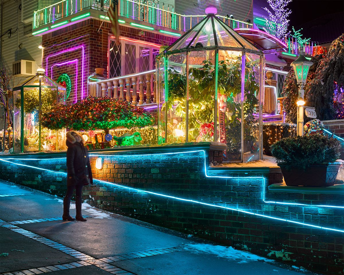 the best displays can be seen from 11th to 13th avenues between 83rd and 86th streets - Best Christmas Lights Display