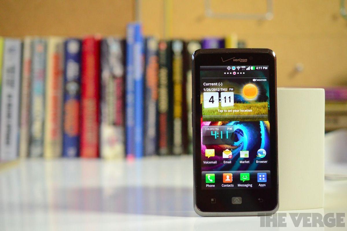 LG Spectrum receiving a software update, still isn't Android 4 0