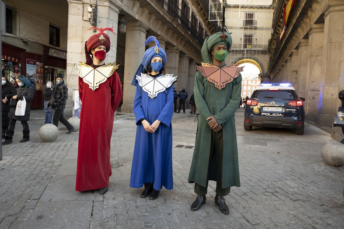 Andrea Levy Presents The Los Reyes Parade In Madrid