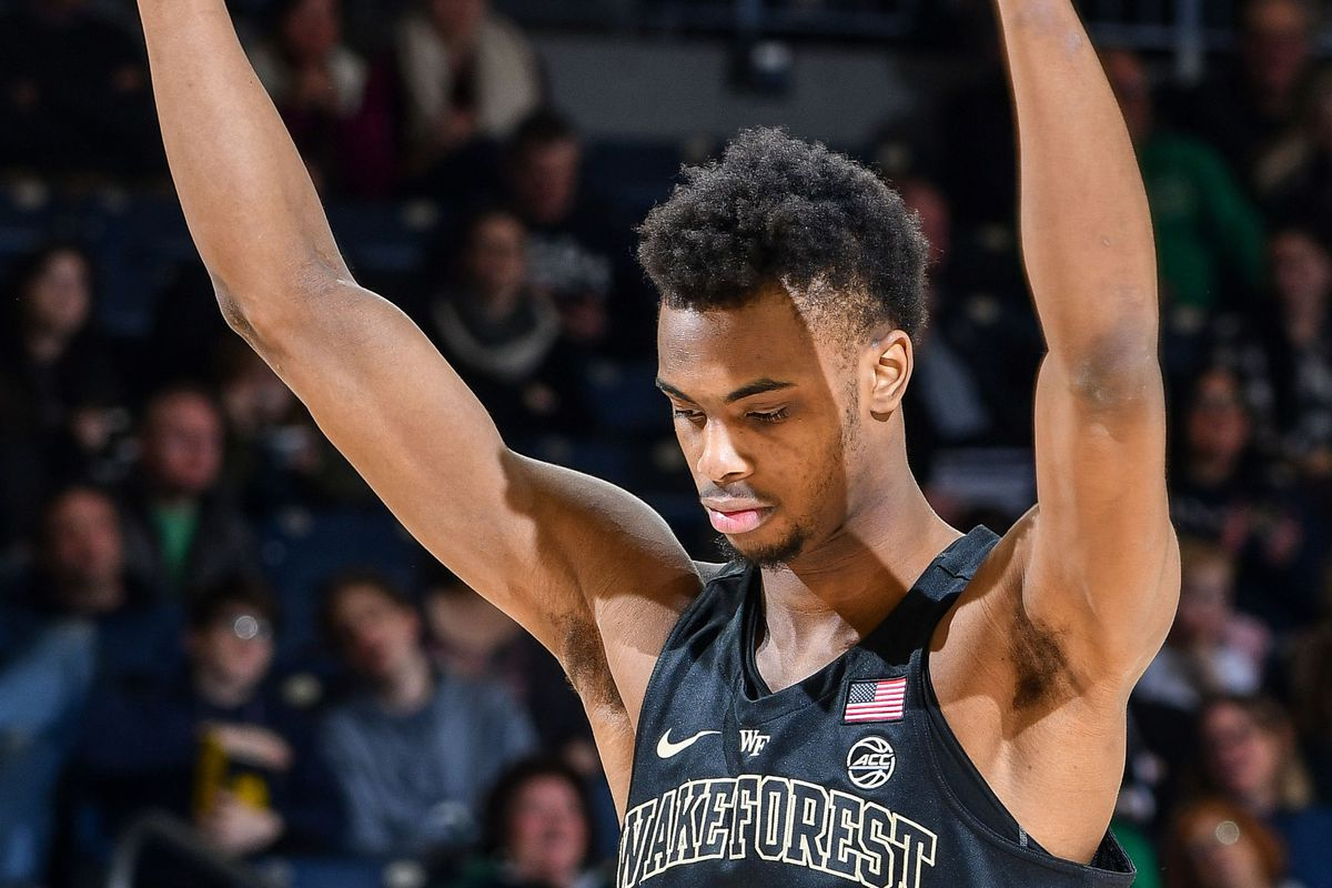 NCAA Basketball: Wake Forest at Notre Dame