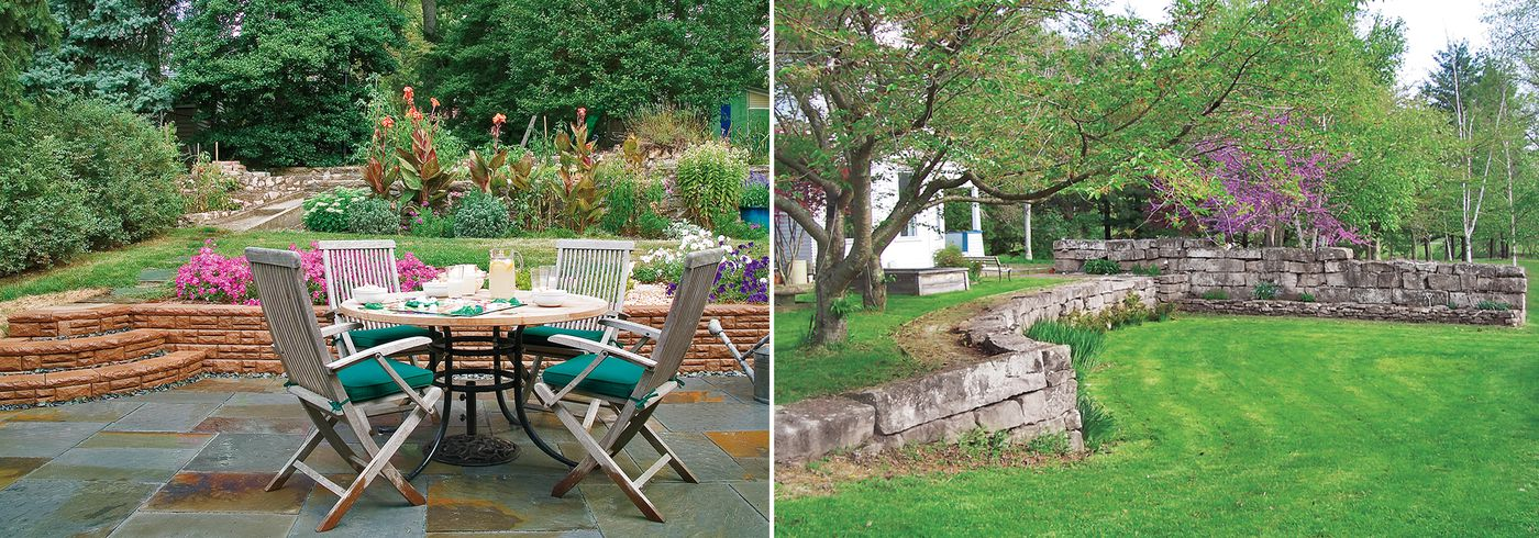 Block Paving Ideas For Gardens, Retaining Wall Ideas Wood Stone Concrete This Old House