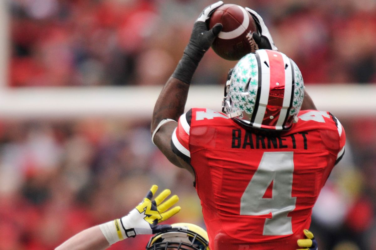 Ohio State free safety C.J. Barnett will miss the season opener due to an injury.