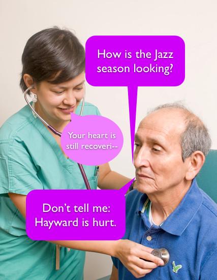 Hayward Is Hurt