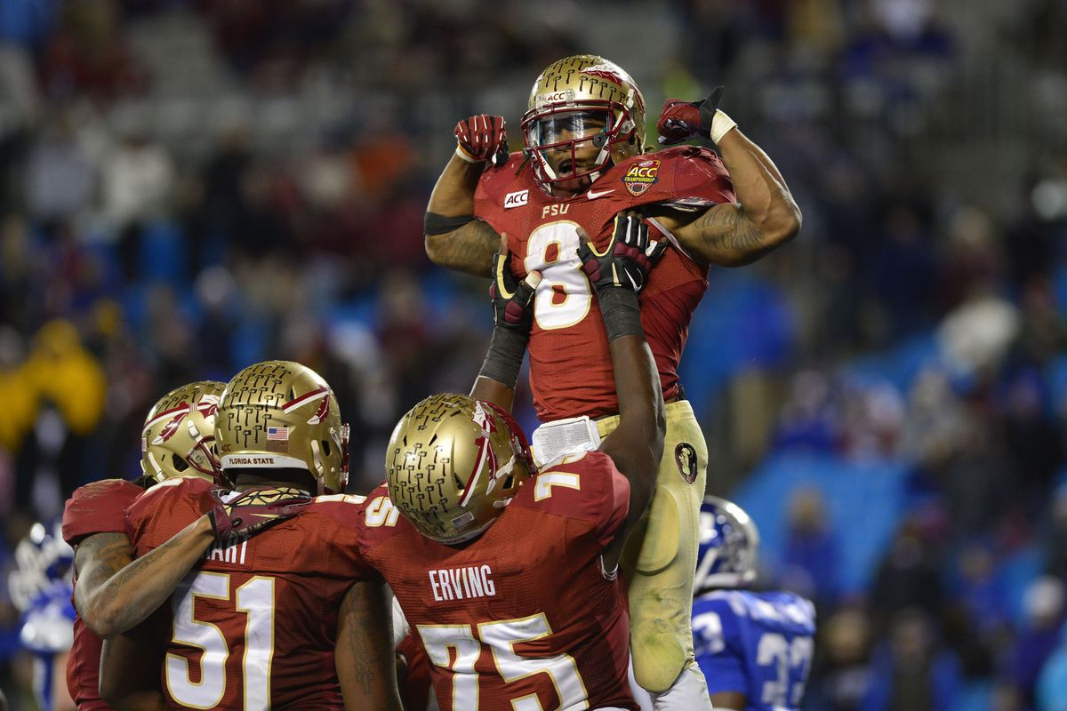 Florida State earned the right to play in for the title after smashing Duke in the ACC championship.