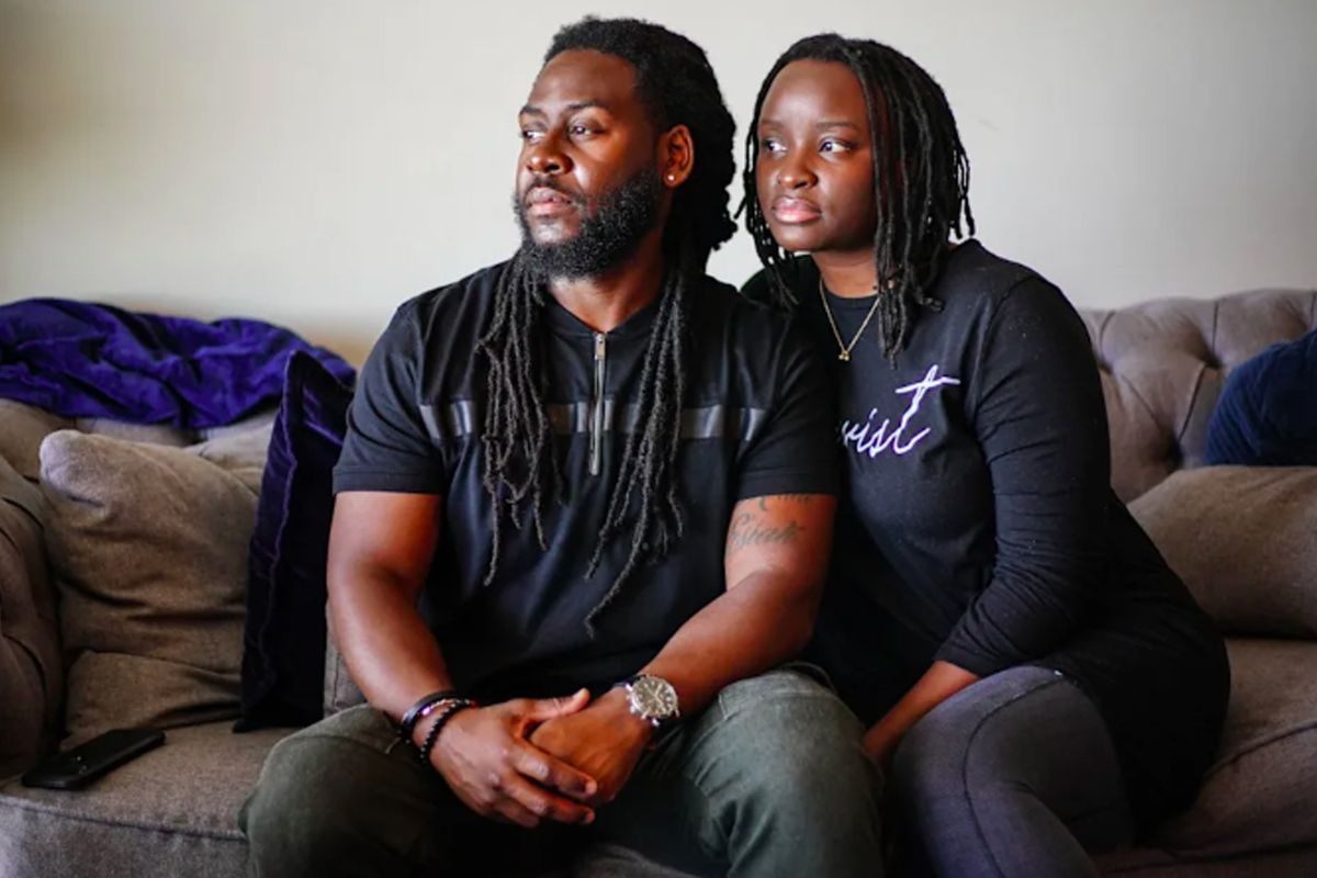 Eboni and Andarius Taylor have been trying to buy a house in Detroit for a year. Student loan debt, the costs of living and competition with buyers who can pay hundreds of thousands of dollars in cash have kept their dream out of reach.