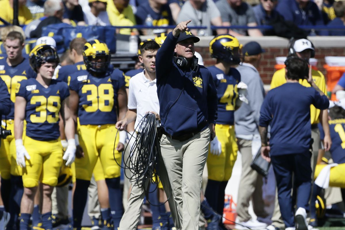 Jim Harbaugh Monday Press Conference Michigan Football