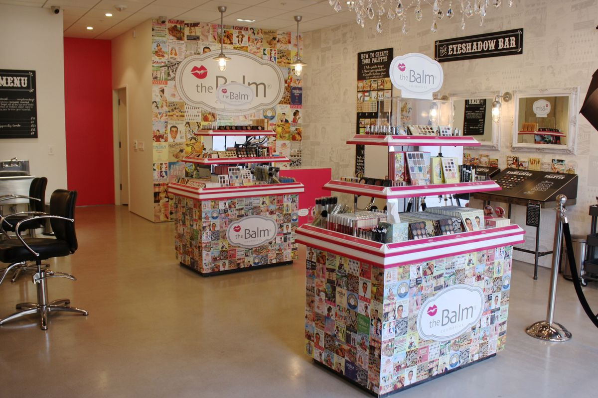 """A peek inside theBalm's flagship store in the Mission. Photo courtesy of <a href=""""https://www.thebalm.com"""">theBalm Cosmetics</a>."""