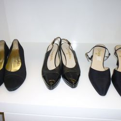 The remaining size 41 Chanel shoes